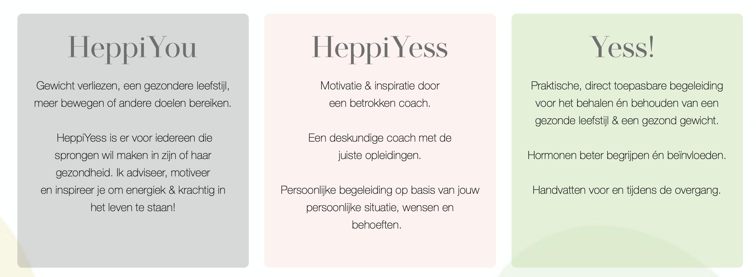 Website HeppiYess